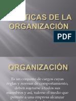 Politicas de La Organizacin