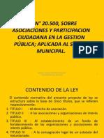 Ley Nº  20.500