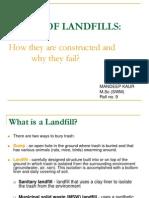 basics of landfills