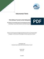 Dokumentasi Teknis Pemetaan Bahaya Tsunami Cilacap