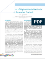 Conservation of High Altitude Wetlands in Arunachal Pradesh