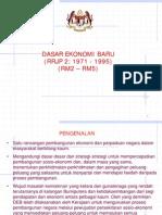 Dasar Ekonomi Baru (DEB)