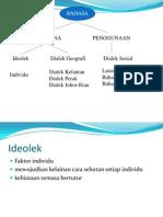 Dialek Dan Sistem Sapaan
