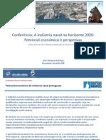 Conferência A Industria naval no horizonte 2020