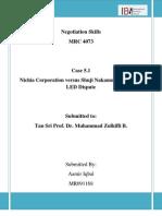 Case 5.1 Nichia Corporation versus Shuji Nakamura