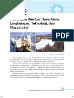12. Hubungan Sumber Daya Alam, Lingkungan, Teknologi Dan Masyarakat