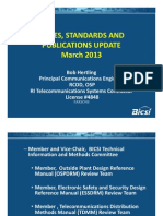Codes Standards Pubs Update