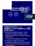 Chapter10 Multinational Market Regions and Market Group1