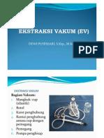 Ekstraksi Vakum (Ev)