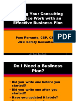 Making Your Business Work With an Effective Business Plan