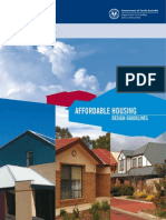 Affordable Homes Design Guidelines
