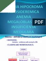 Anemia +Im Curs