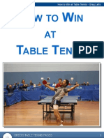 How to Win at Table Tennis
