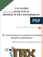 MPEAP I- Taxe Si Impozite in UE