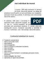 Curs 6. Contractele de Munca. CCM Si CIM