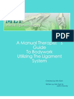 Revised Manual Ligament Therapy - Foundation