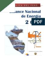 Balance Nacional Energia 2010