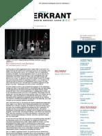 20130621 Theaterkrant HF Review Arturo Ui