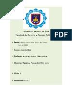 RESEÑA HISTORICA DEL LIBRO II DEL CODIGO CIVIL DE 1984
