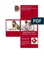 Errores y Soluciones Del E-learning