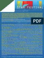 Chianti Star Festival Calendar