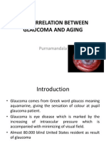 The Correlation Between Glaucoma and Aging