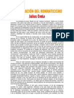 Julius Évola-La evolución del romanticismo
