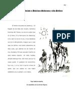 Carta de Don Quijote a Dulcinea Soberana y alta Señora