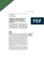 _Enzo Mingione, Enrico Pugliese - A Dificil Delimitacao Do Urbano e Do Rural