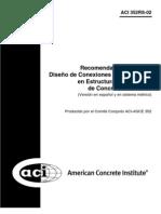 ACI 352RS-2002 Diseño de Conexiones Viga-Columna en Estructuras Monolíticas de Concreto Reforzado