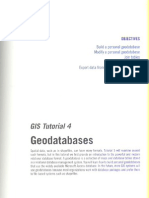 GIS Tutorial Updated for ArcGIS 9.3 - Tutorial 4 (pag 107 - pag 139)