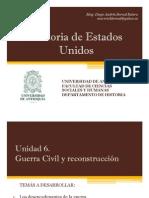 Unidad 6 Guerra Civil y reconstrucción