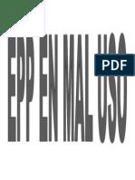 EPP EN MAL USO