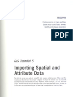 GIS Tutorial Updated for ArcGIS 9.3 - Tutorial 5 (pag 141 - pag 191)