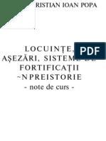 Locuinte, Asezari, Fortificatii in Preistorie