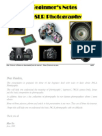 A Beginner's Notes on DSLR Photography  (189MB)