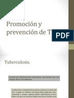 Promoción y prevención de Tb
