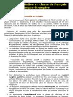 08- L'écriture créative en classe de français