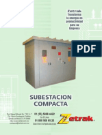 Subestacioncompacta Zetrac y Tabla de Cap de Fusibles Segun Pot y Tension