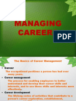 Manageing Careers