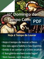 20130623 - 12º Domingo do Tempo Comum - Apresentação.pdf