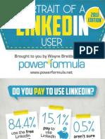 2013 LinkedIn User Survey Infographic