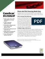 Csd1250u2f Spec