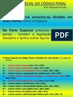 PARTE ESPECIAL DO CÓDIGO PENAL