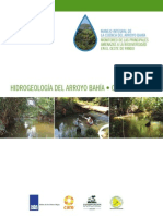 Hidrogeologia Arroyo Bahia