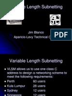 VLSM subnetting