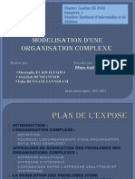 _15- Modélisation d_une organisation complexe ( SI )