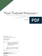 Recetario Guanacaste y Puntarenas