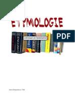 ETYMOLOGIE 1