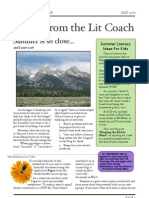 Lit Coach Notes May 09
